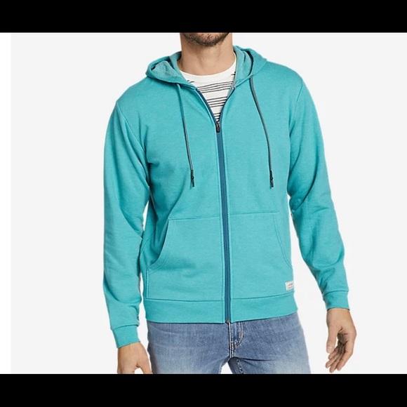 Eddie Bauer Camp Fleece Full Zip Hoodie Sz XL